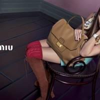 Elizabeth Olsen for Miu Miu spring/summer 2014