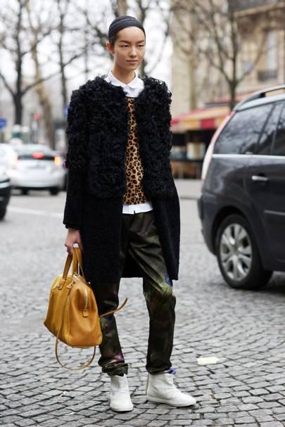 Fei Fei Sun, model