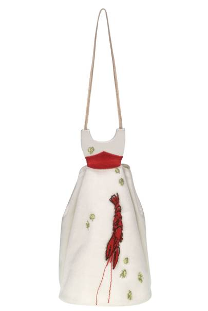2003 - Schiaparelli-Inspired Lobster Dress Bag