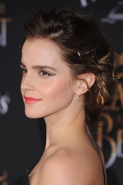 Emma Watson Hair Haircuts Bob Pixie Crop Up Dos British Vogue