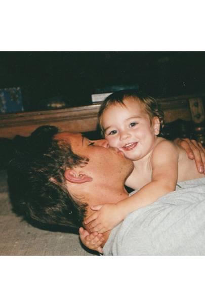 Dad: Paul Walker