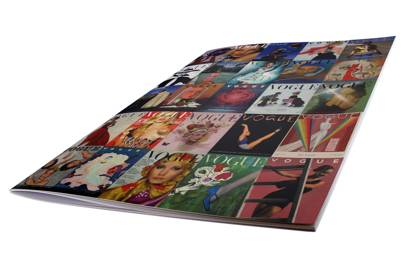 Vogue covers exercise book