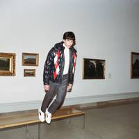 Model and fashion vlogger Luca Fersko