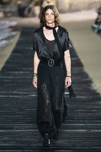 Saint Laurent Spring/Summer 2020 Menswear show report