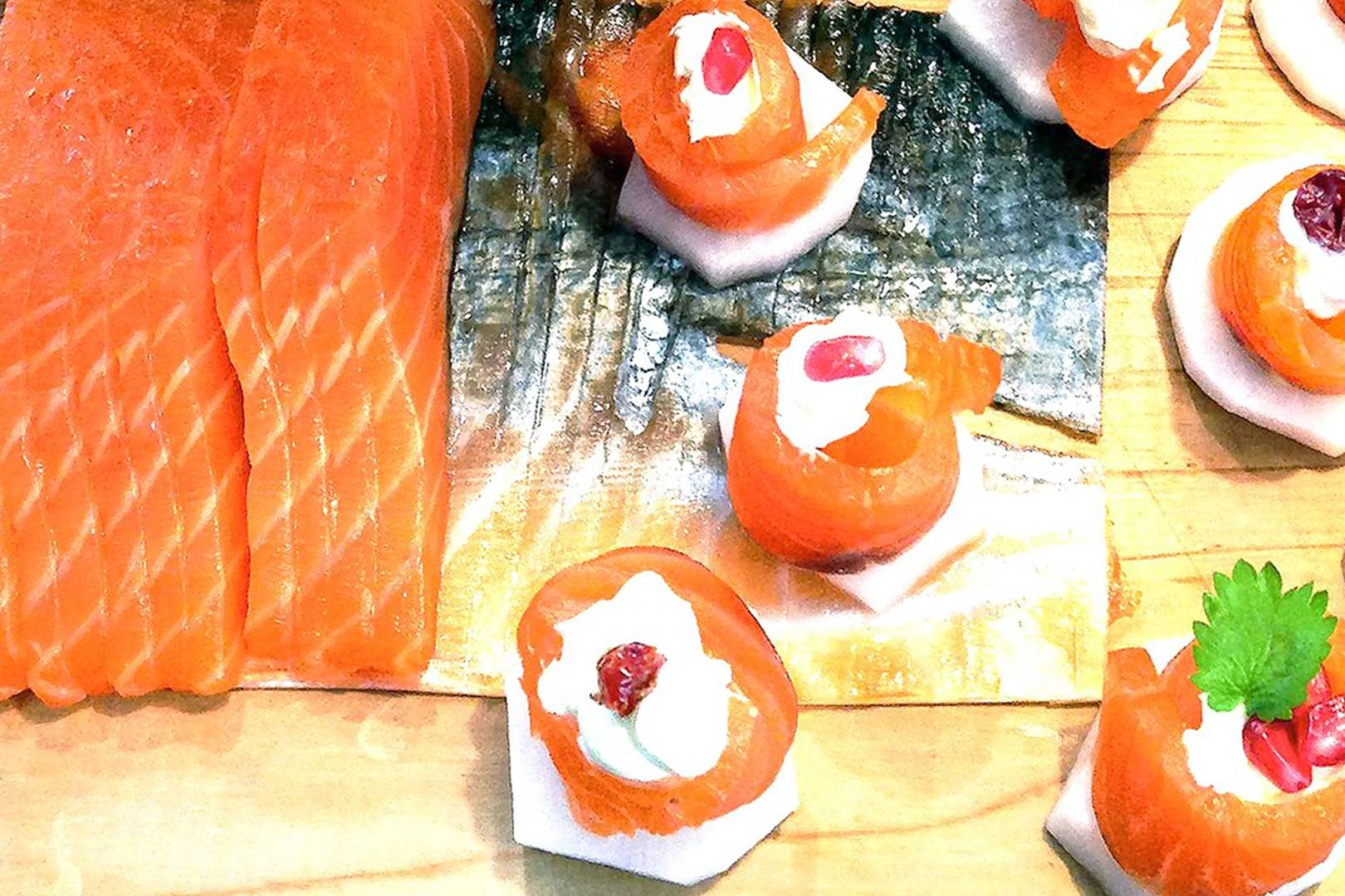 Hemsley And Hemsley Smoked Salmon Canapes Recipe British Vogue