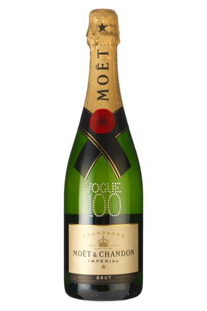 The Moet & Chandon Vogue 100 Champagne