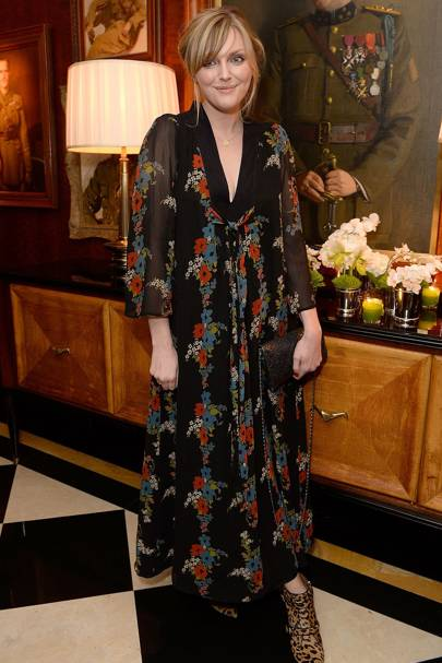 Dior by Avedon dinner, London - January 19 2016