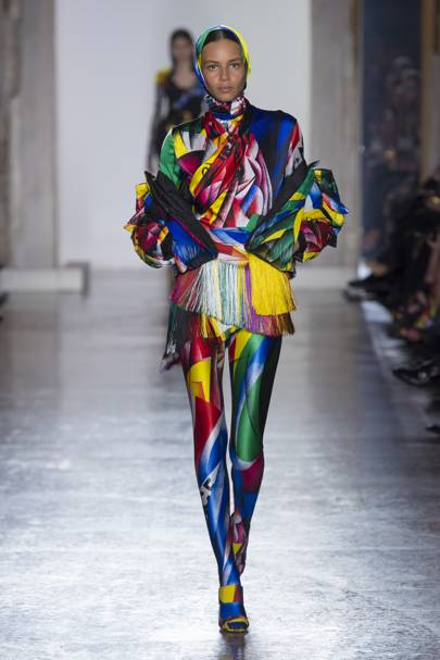 4. A Printed Catsuit Is The New Foundation Garment