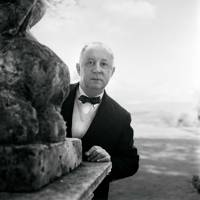 Christian Dior at the Château de la Colle Noire. [i]Vogue[/i] sent a young Tony Armstrong Jones (the future Lord Snowdon) to photograph Dior in his own surroundings. The couturier passed away just a few months later.