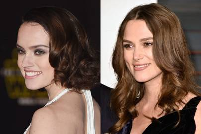 Daisy Ridley and Keira Knightley