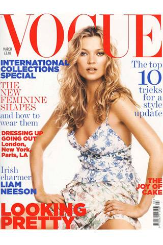 British Vogue, March 2005