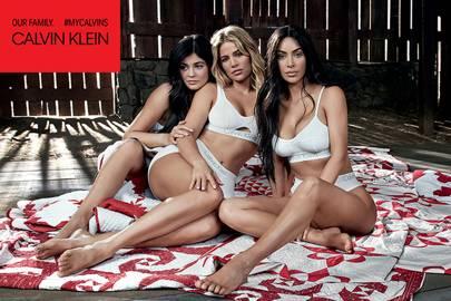Kylie Jenner, Khloe Kardashian and Kim Kardashian West