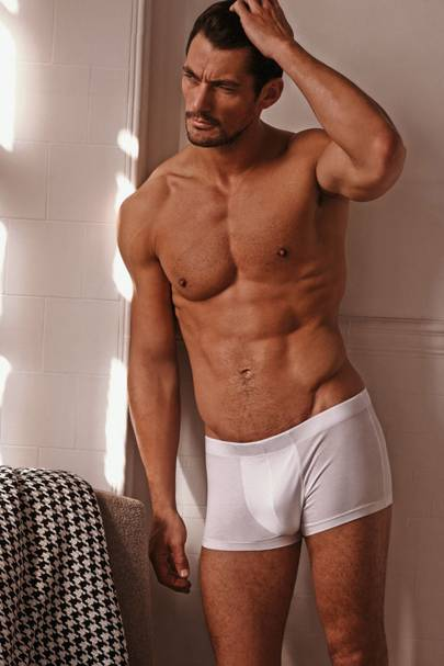 8dcf32bf5d094 DAVID GANDY's days in pants may be numbered, or at least the days that you  might see him in his pants, since the model is preparing to let new faces  sport ...
