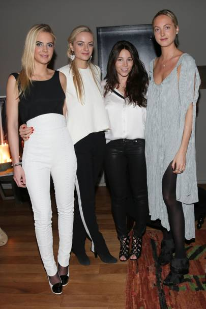 Natacha Darty, Jenna, Claire and Virginie Courtin-Clarins