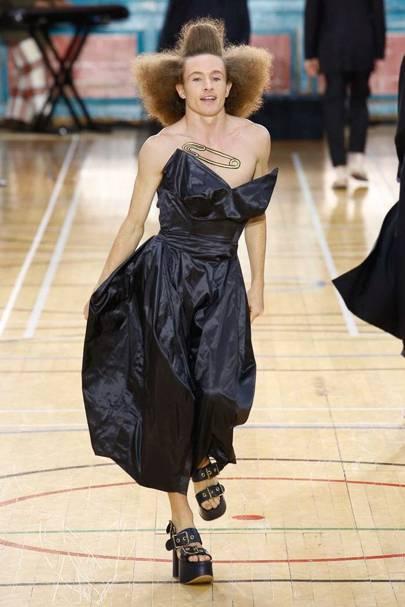 Gender Fluidity Fashion Movement British Vogue