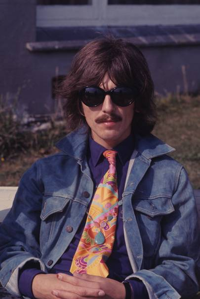 George Harrison in San Francisco, 1967