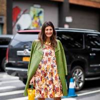 Start your outfit with an accessory - preferably a supersized tote