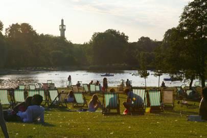 Boating In Regents Park