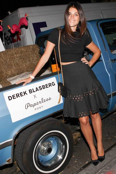 Derek Blasberg for Paperless launch, New York – September 25 2013