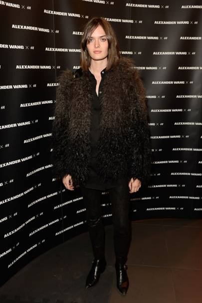 Alexander Wang X H&M launch, London - November 5 2014