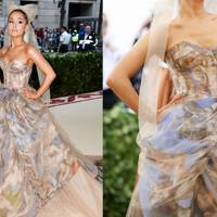 Ariana Grande's Gown Was Literally A Work Of Art