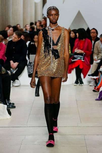321fb987857f Miu Miu Autumn/Winter 2019 Ready-To-Wear show report   British Vogue