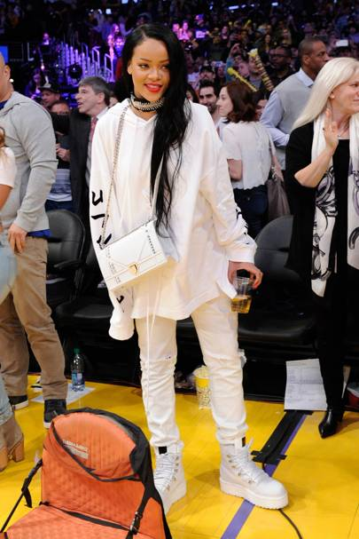 Lakers game, Los Angeles - March 6 2016