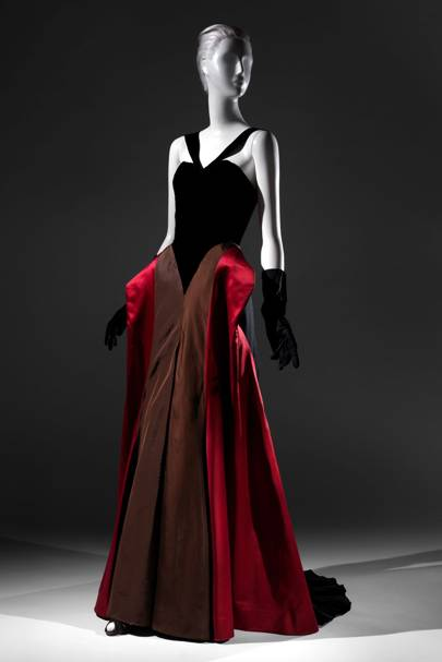 Charles Jame evening dress, 1946