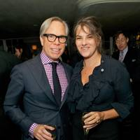 Tommy Hilfiger and Jonathan Newhouse dinner, Emin Room at Restaurant 34 - January 6 2014