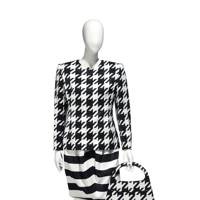 Christian Lacroix printed silk ensemble with matching handbag