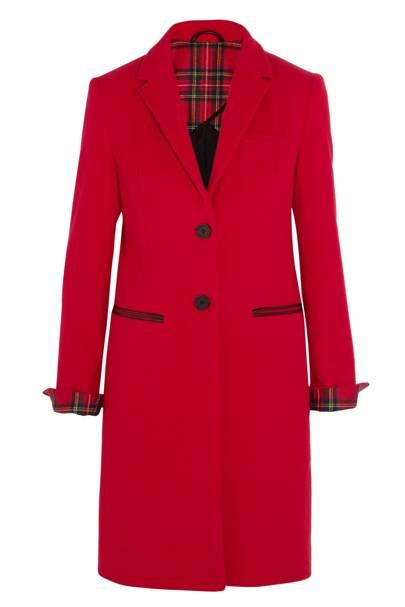 Mudhoney cotton-felt coat, £500