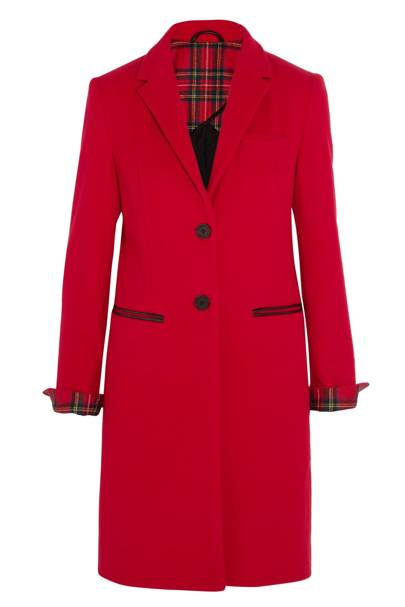 Mudhoney cotton-felt coat, £500