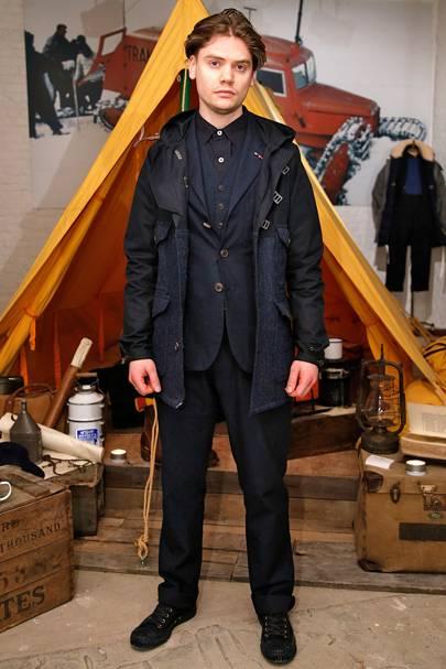 07994e63cb4e Nigel Cabourn Autumn Winter 2015 Menswear show report