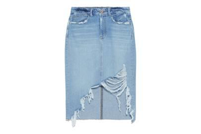 Five-pocket pencil skirt, £25.99