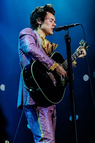619129fd5f2 Harry Styles Is Raffling Off His Gucci Loafers For The UK s Oldest LGBT  Charity