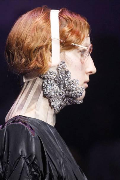 A Crystal Headbrace at Gucci
