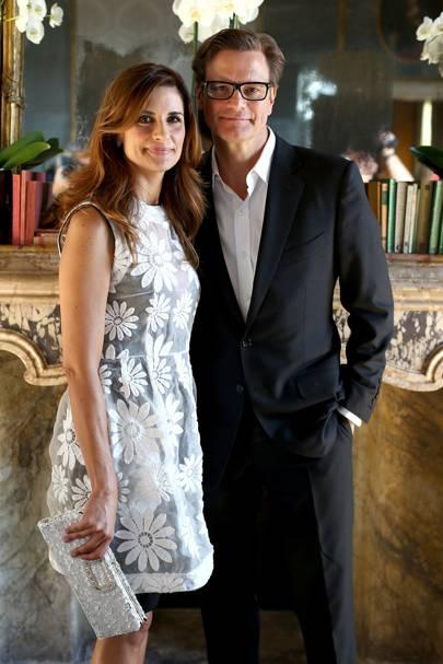 Colin and Livia Firth