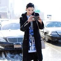 Lily Kwong, model/writer
