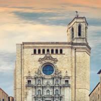 Girona Cathedral, Catalonia, Spain