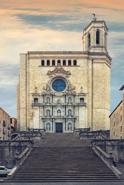 Girona Cathedral, Catalonia, Spain