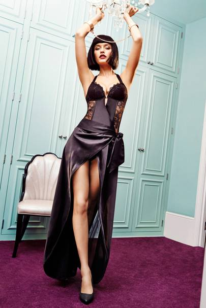 7b870d3a14 GILES DEACON has collaborated with Ann Summers on an exclusive lingerie  collection due to launch on May 1.