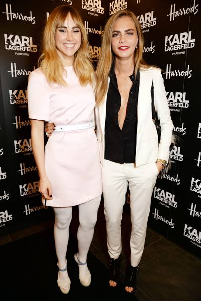 Harrods and Karl Lagerfeld Parfums dinner, London - March 13 2014