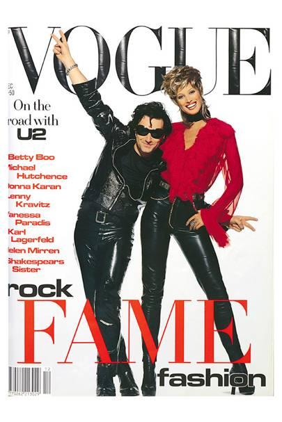 Vogue Cover, December 1992