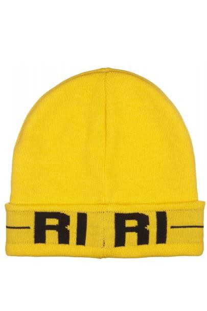Yellow Riri beanie, £15