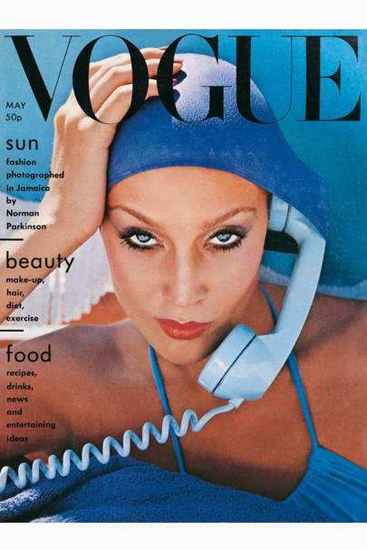 Vogue Cover, May 1975