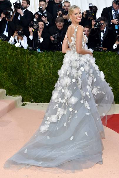 Karolina Kurkova at the 2016 Met Gala
