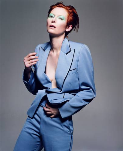 Tilda Swinton, [i]Vogue[/i] Italia, February 2003
