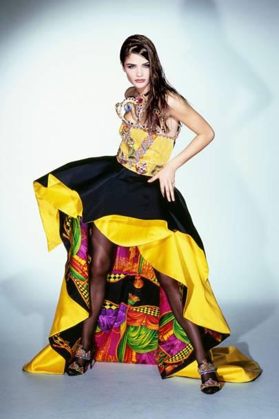 Helena Christensen - Vogue June 1991