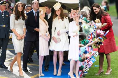 The Duchess of Cambridge's nude heels