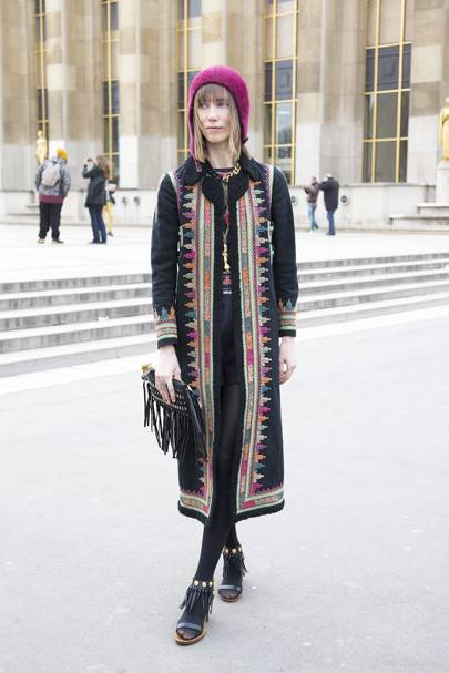 Anya Ziourova, stylist